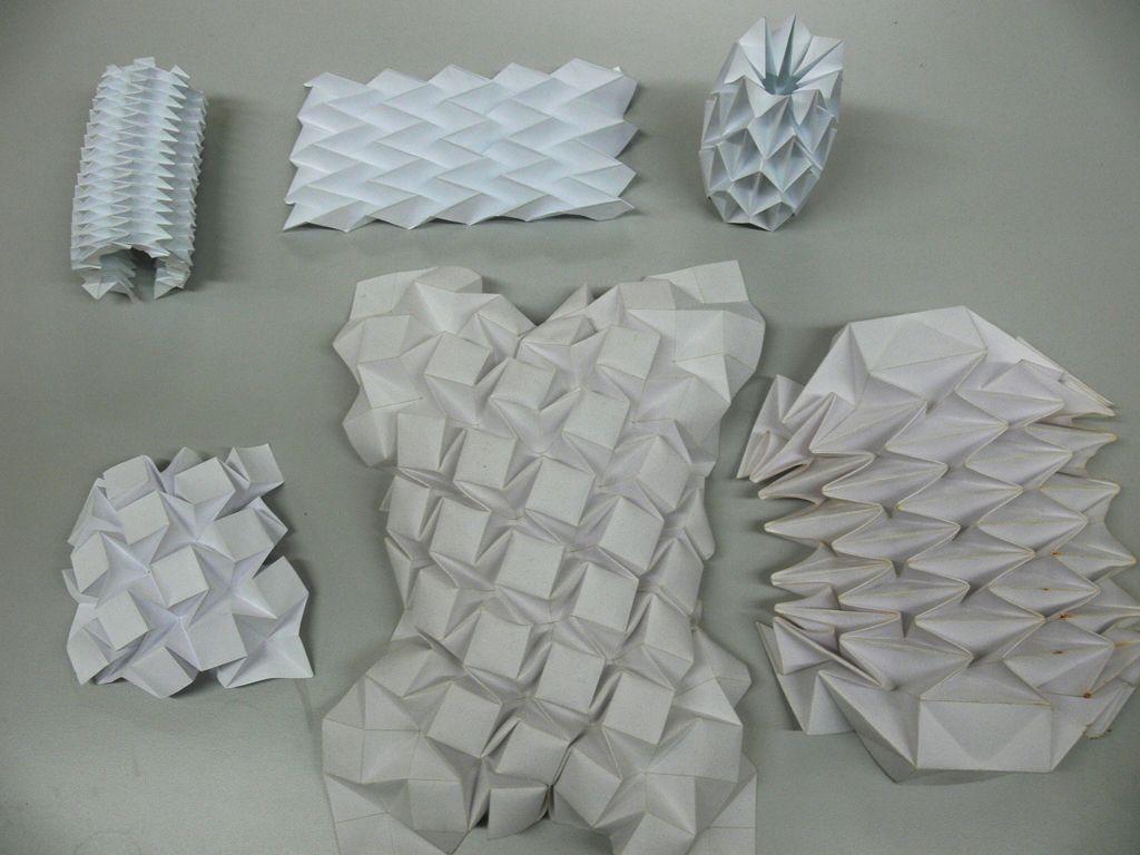 Adaptive Folding Structure Thomas Diewald Folding Structure Design Pattern Design