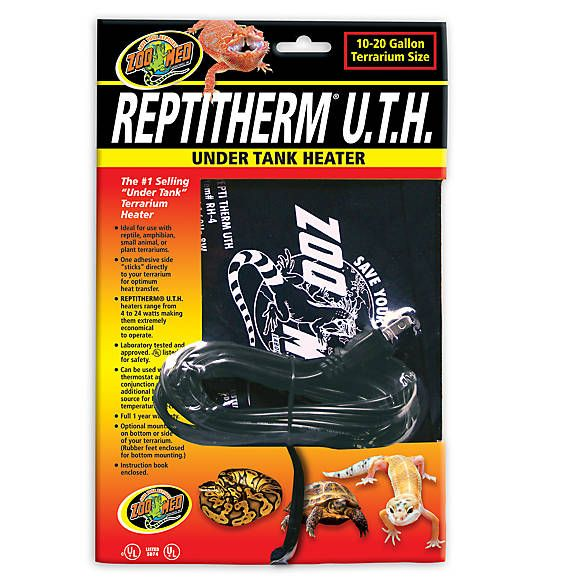 Zoo Med Repti Therm Reptile Under Tank Heater Heater Zoo