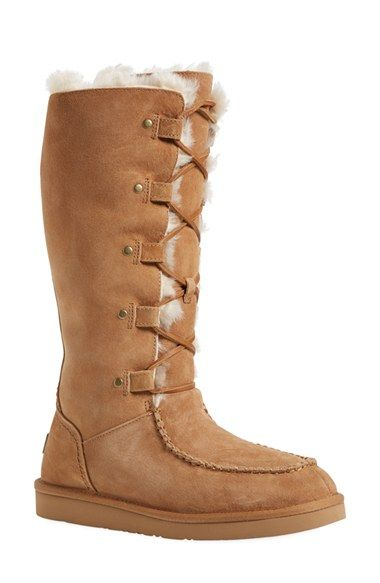 04886971abc8 UGG® Australia  Appalachian  Water-Resistant Lace-Up Tall Boot (Women) (Wide  Calf) available at  Nordstrom