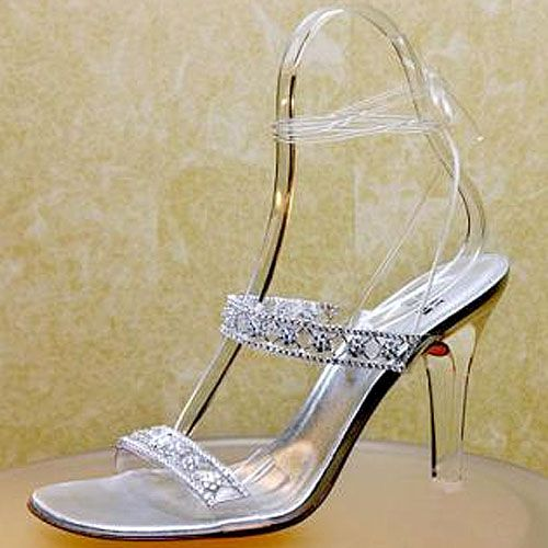 Stuart Weitzman Cinderella inspired