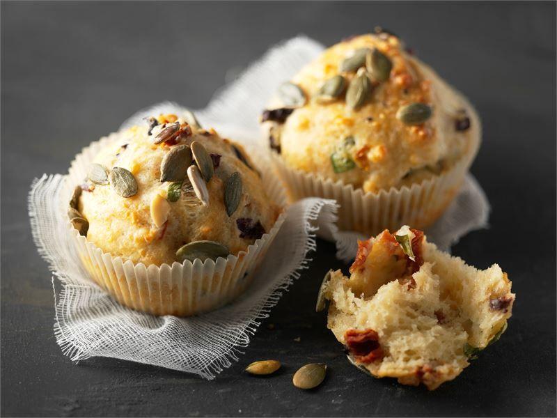 Juustoiset muffinit