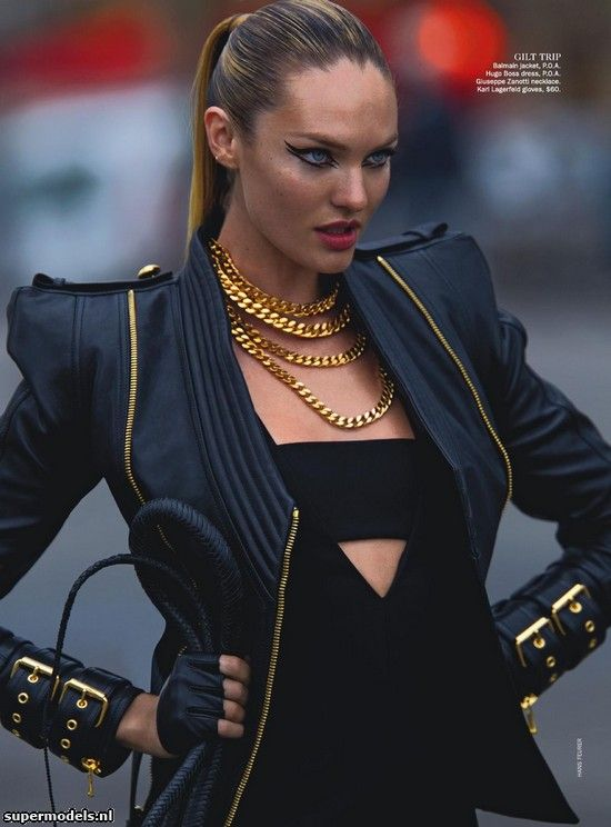 Supermodels.nl Industry News - Candice Swanepoel in 'Wild Cat'...