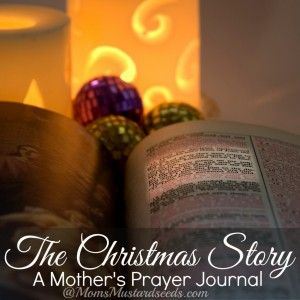 The Christmas Story- Prayer Journal for Moms