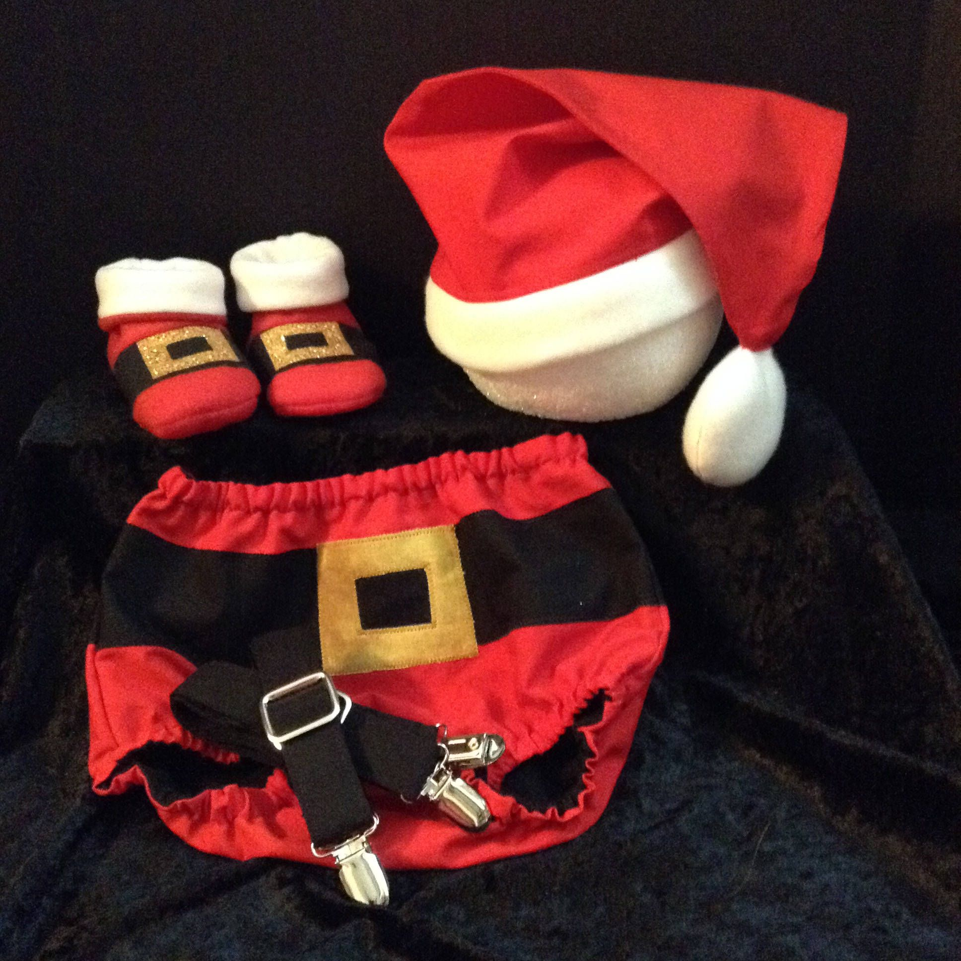 Baby santa christmas outfit baby clothing santa clause