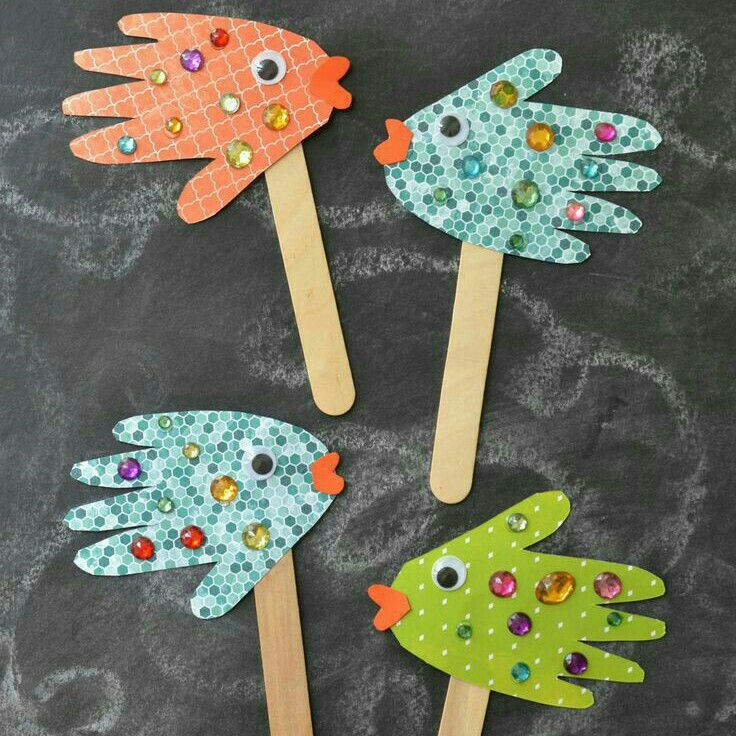 Popsicle Stick Craft Project Dabbling With Crafts Crafts For