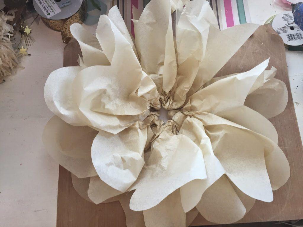 How To Make Giant Tissue Paper Flowers Pinterest Tissue Paper