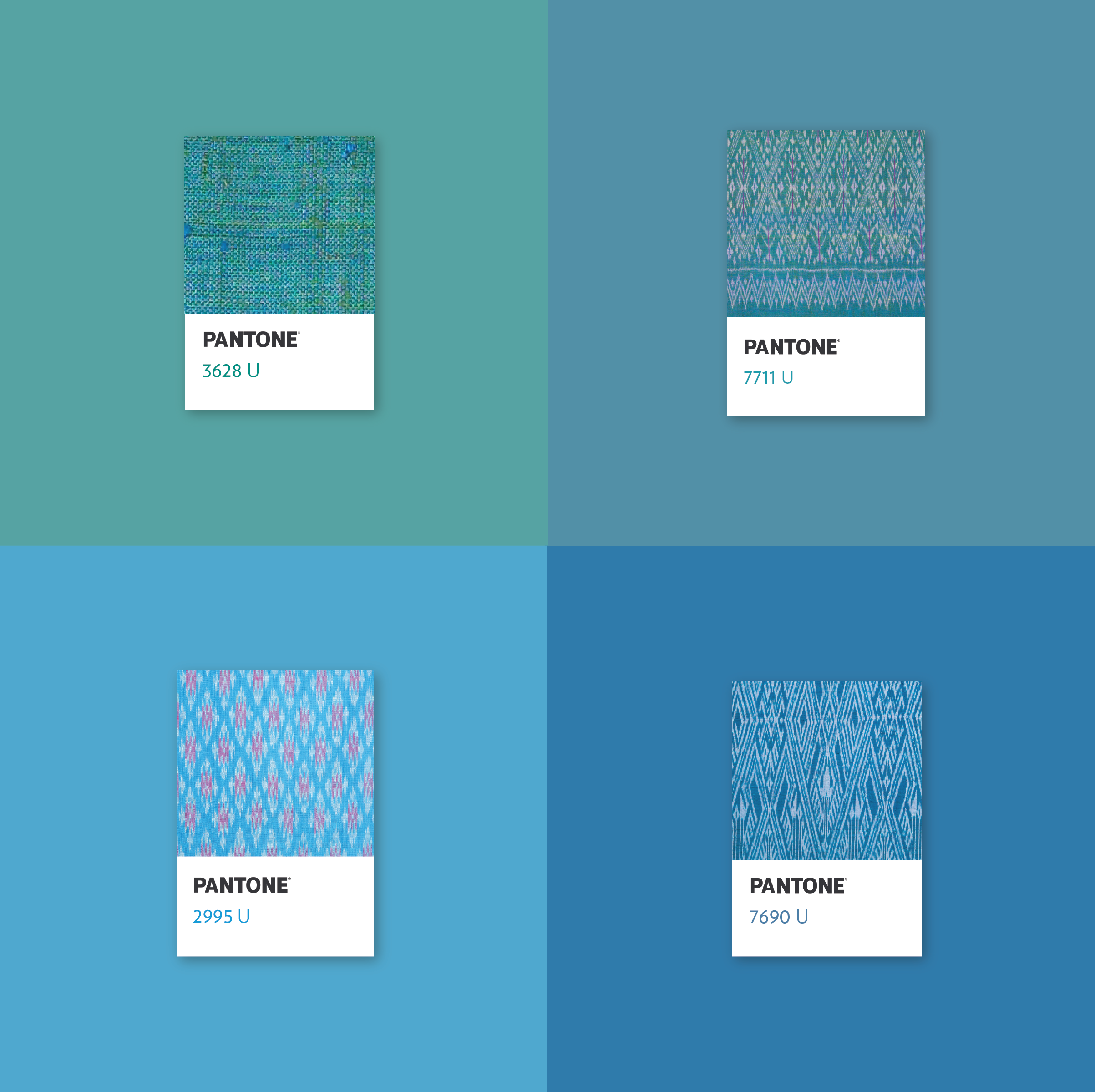 The blue shade of Thai Silk translated into a Pantone color ...
