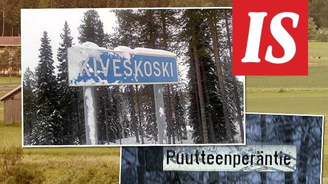 Suomen paikannimistö on monipuolinen ja rikas.