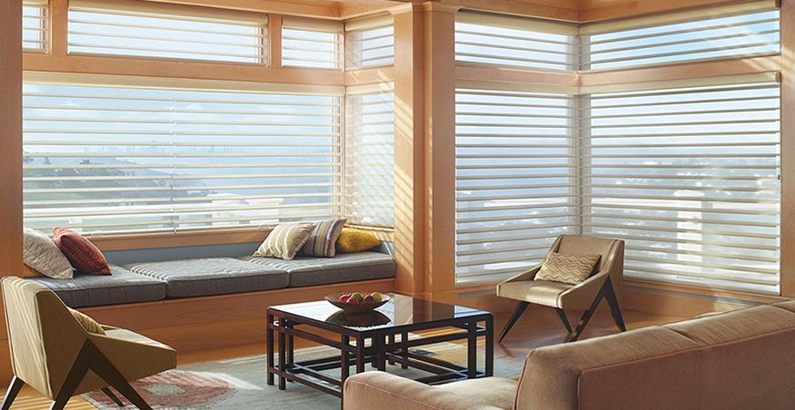 portfolio angelica portfolios originale colors luminette shadings blinds coordination hunterdouglas six alley silhouette selling window hunter translucent fabric blind offers with best douglas color refined