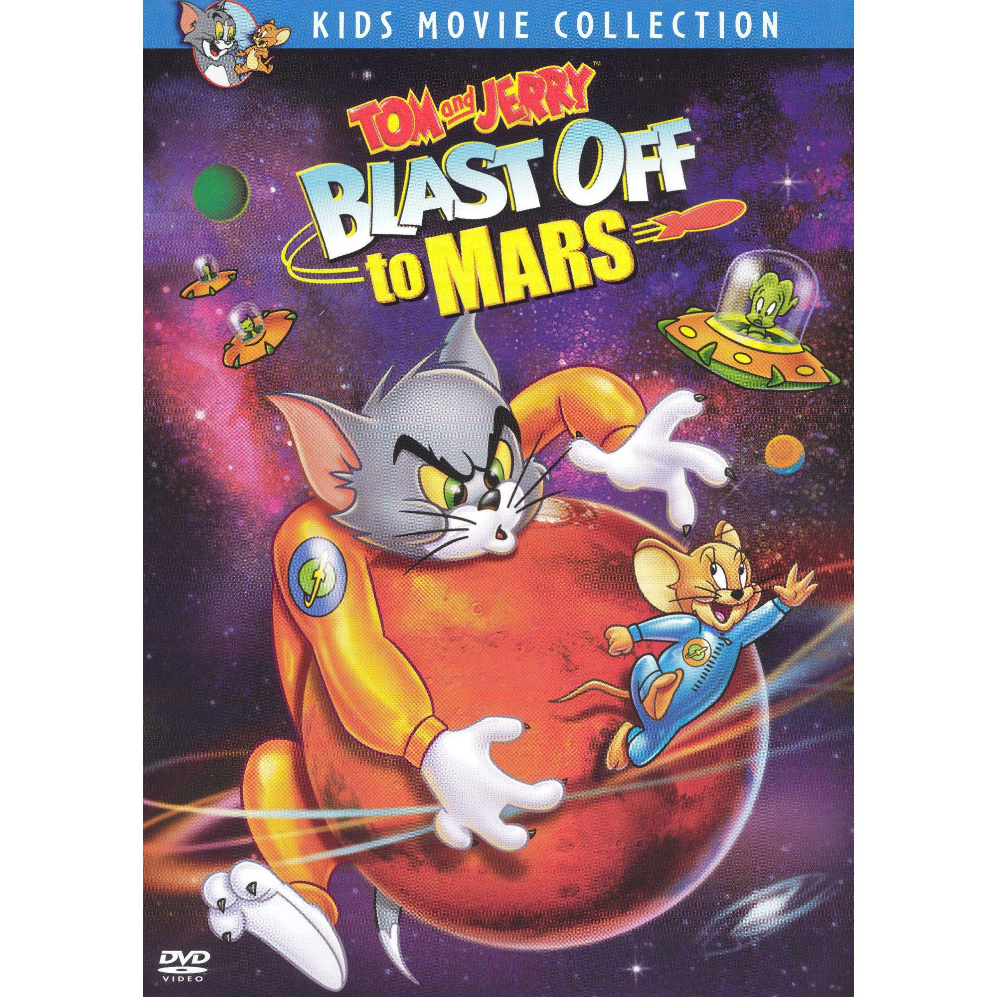 Tom and Jerry: Blast Off to Mars (DVD)
