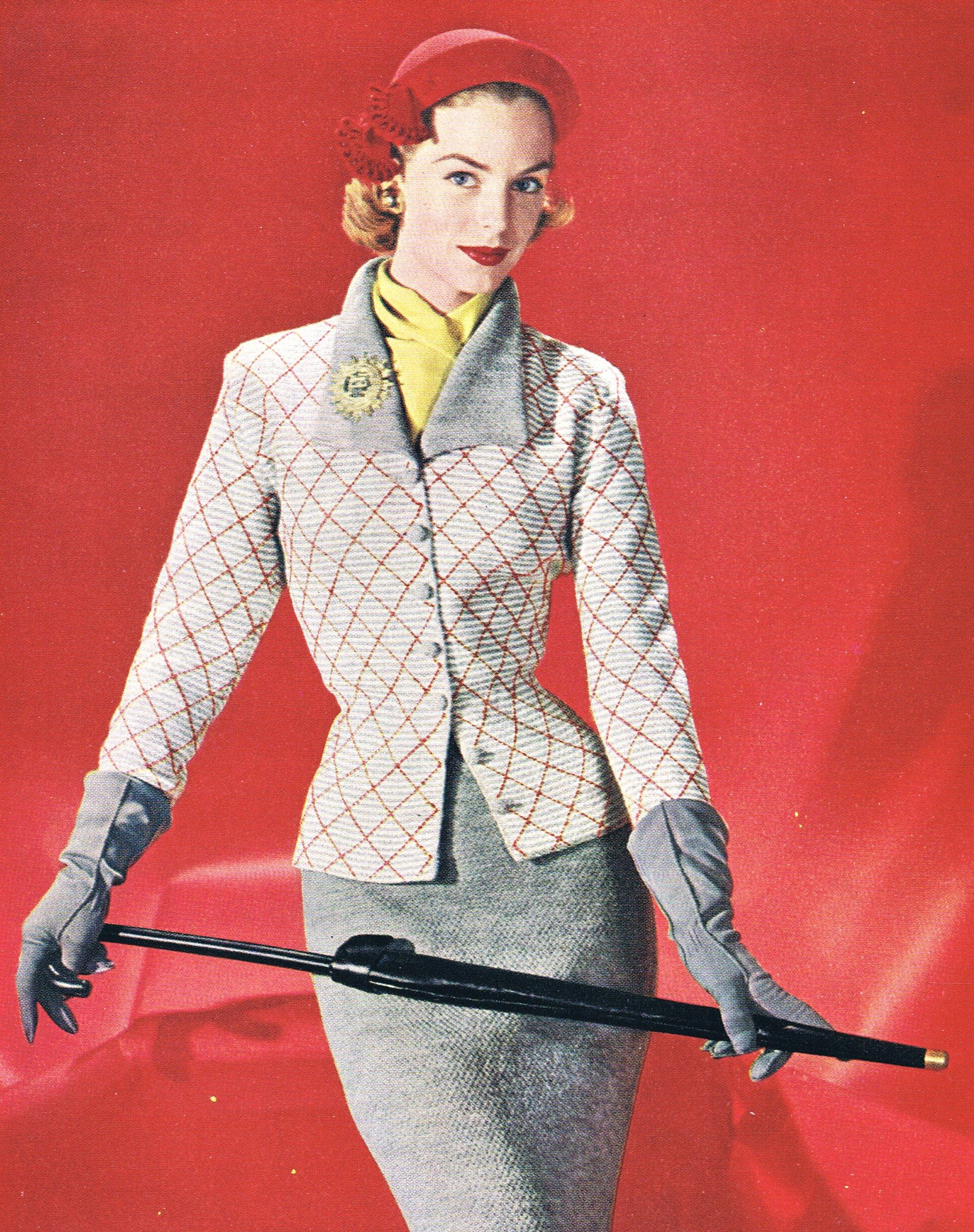 "Minerva Knits - ""Town & Country"" Suit 1951"