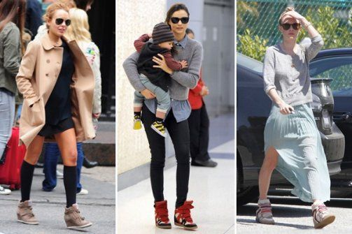 Summer's Ugliest Trend? Sneaker Wedges Should Be Banned