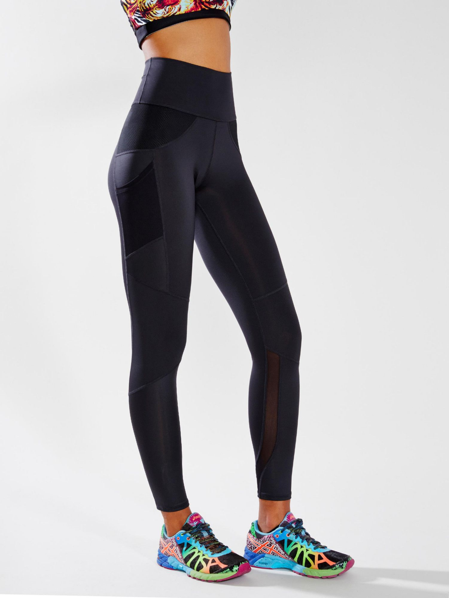 High Waisted Workout Leggings Nike - The Else