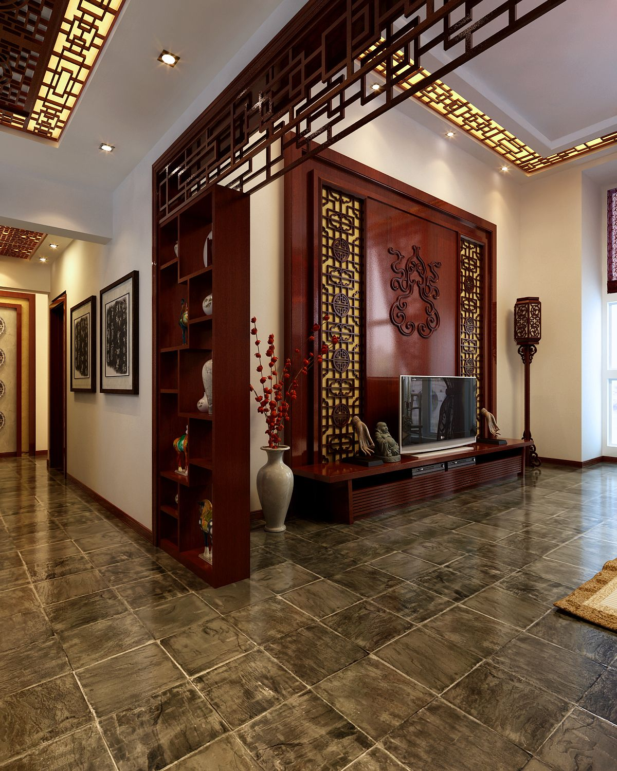 Asian Decor Living Room: Living Room : Admirable Chinese Style