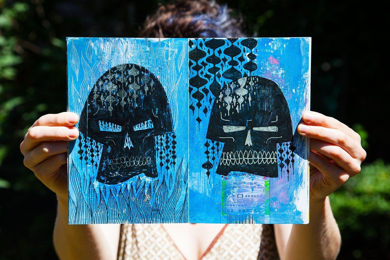 Skulls of Ultimate Death by Scott Bakal | ILLUSTRATION AGE