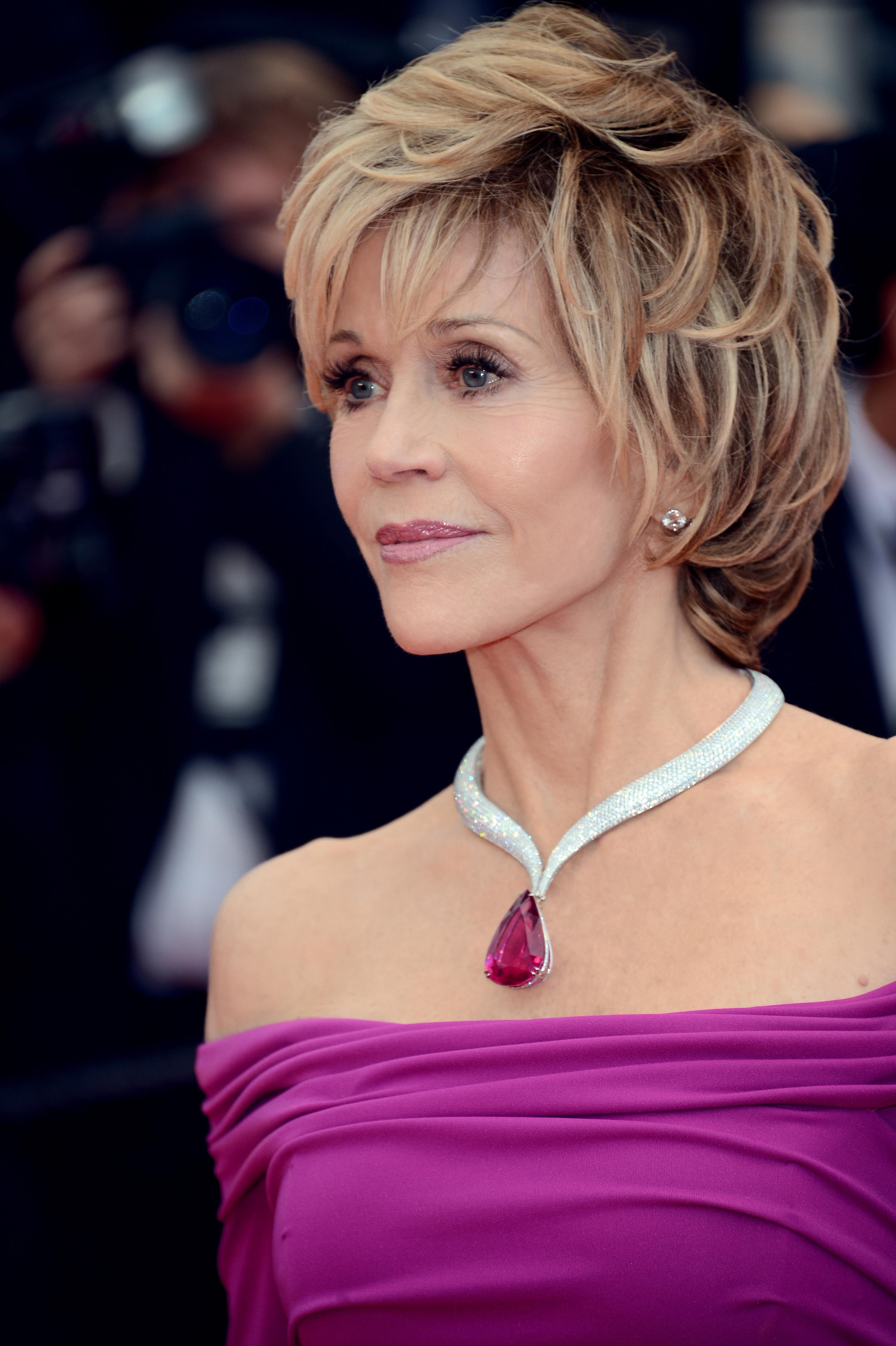 Lisa ann before plastic surgery short hairstyle 2013 - The One And Only Jane Fonda Cannes 2013 I Like The Hair