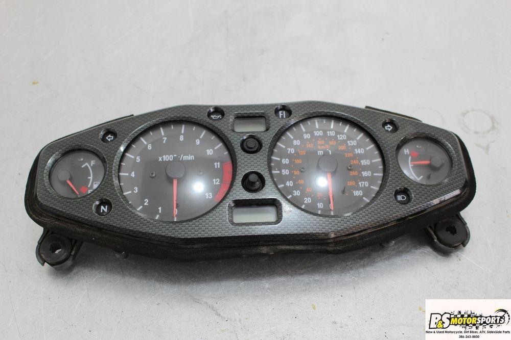 99 07 Suzuki Hayabusa Busa Gsxr1300 Speedo Tach Gauge Display