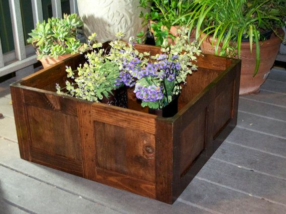Extra Large Wooden Planter Large Wooden Planters Wooden 400 x 300
