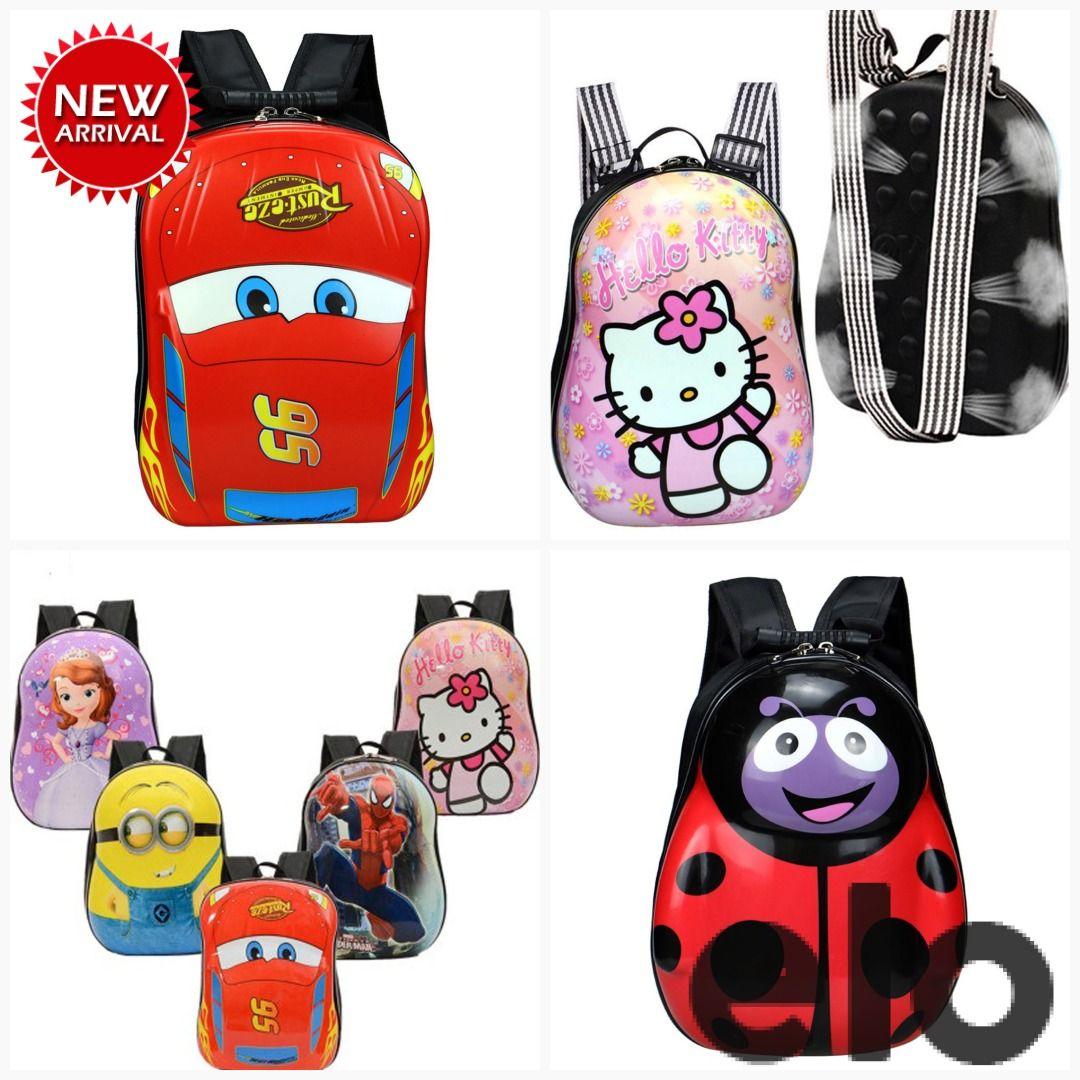 Cartoon Character Hard Shell Backpack Backpacks Cartoon Characters Cartoon