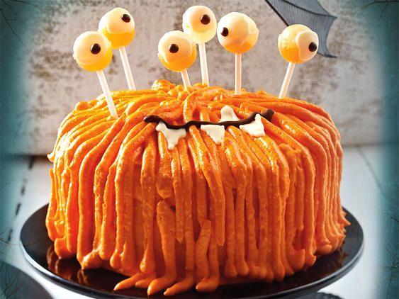 Halloween-Rezepte - schaurig-schöne Leckereien #halloweenkuchen