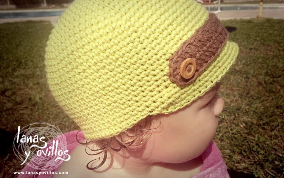 kid baby crochet hat free pattern patrón gratis   Gorros   Pinterest ...