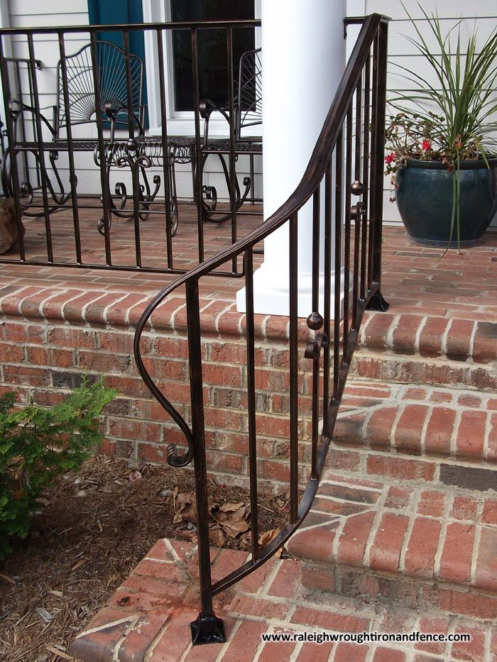 Best Chapel Hill Custom Wrought Iron Interior Railings 640 x 480