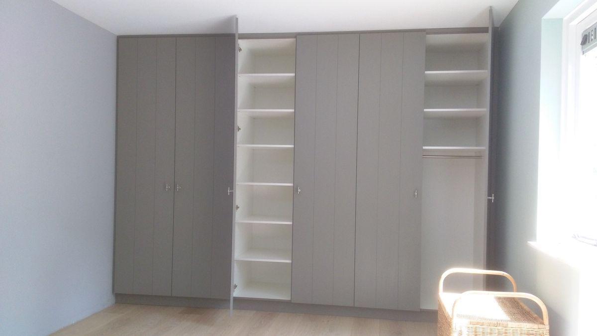 Inbouwkast slaapkamer te Nunspeet  maatwerk Interieurs