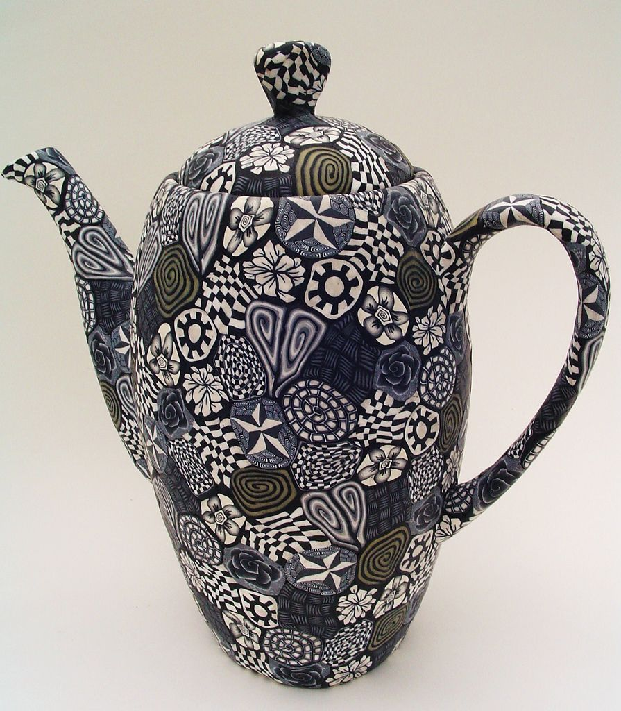 Black And White Teapot Grs Says The Never Ending Allure