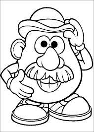 Image Result For Mrs Potato Head Challenge Toy Story Para Colorear Dibujos Toy Story Dibujos Colorear Ninos