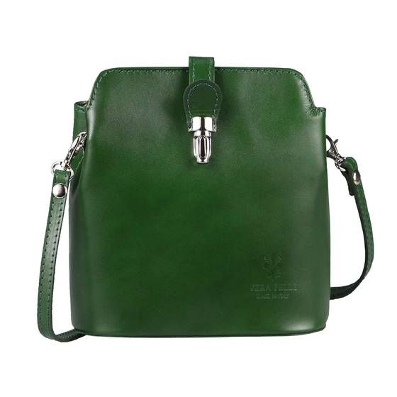 Photo of OBC Made in Italy women leather bag shoulder bag shoulder bag crossbody theater bag evening bag smooth leather jewelry bag Vera Pelle minibag ladies bag