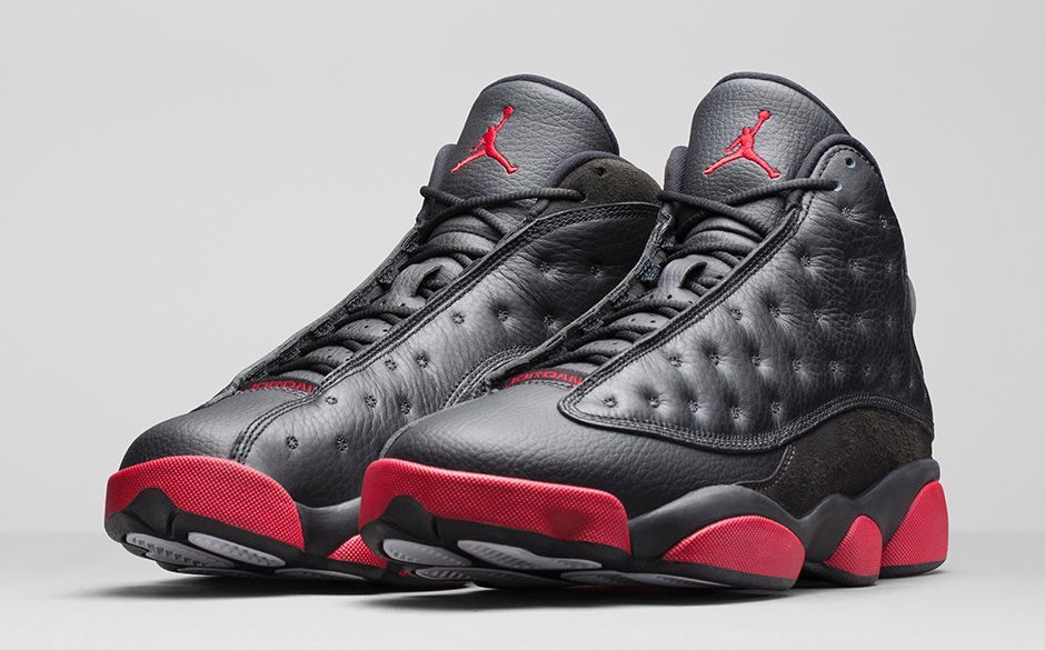 AIR JORDAN 13 RETRO BLACKGYM RED releases in stores Based on an early  sample that only keeneyed Jordan aficianados remember the newest colorway  of the