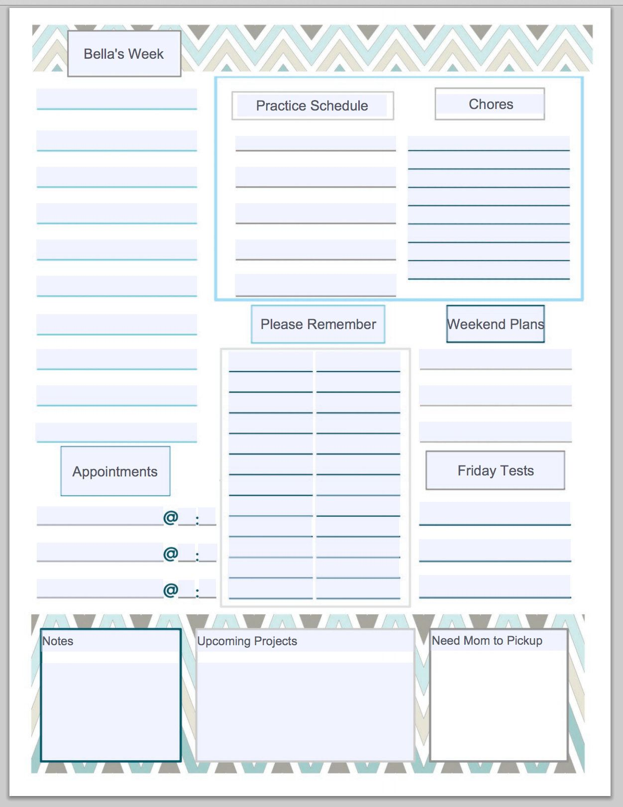 Customizable And Free Printable To Do List That You Can
