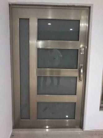Resultado de imagen para puertas de aluminio exterior for Puertas interiores modernas de aluminio