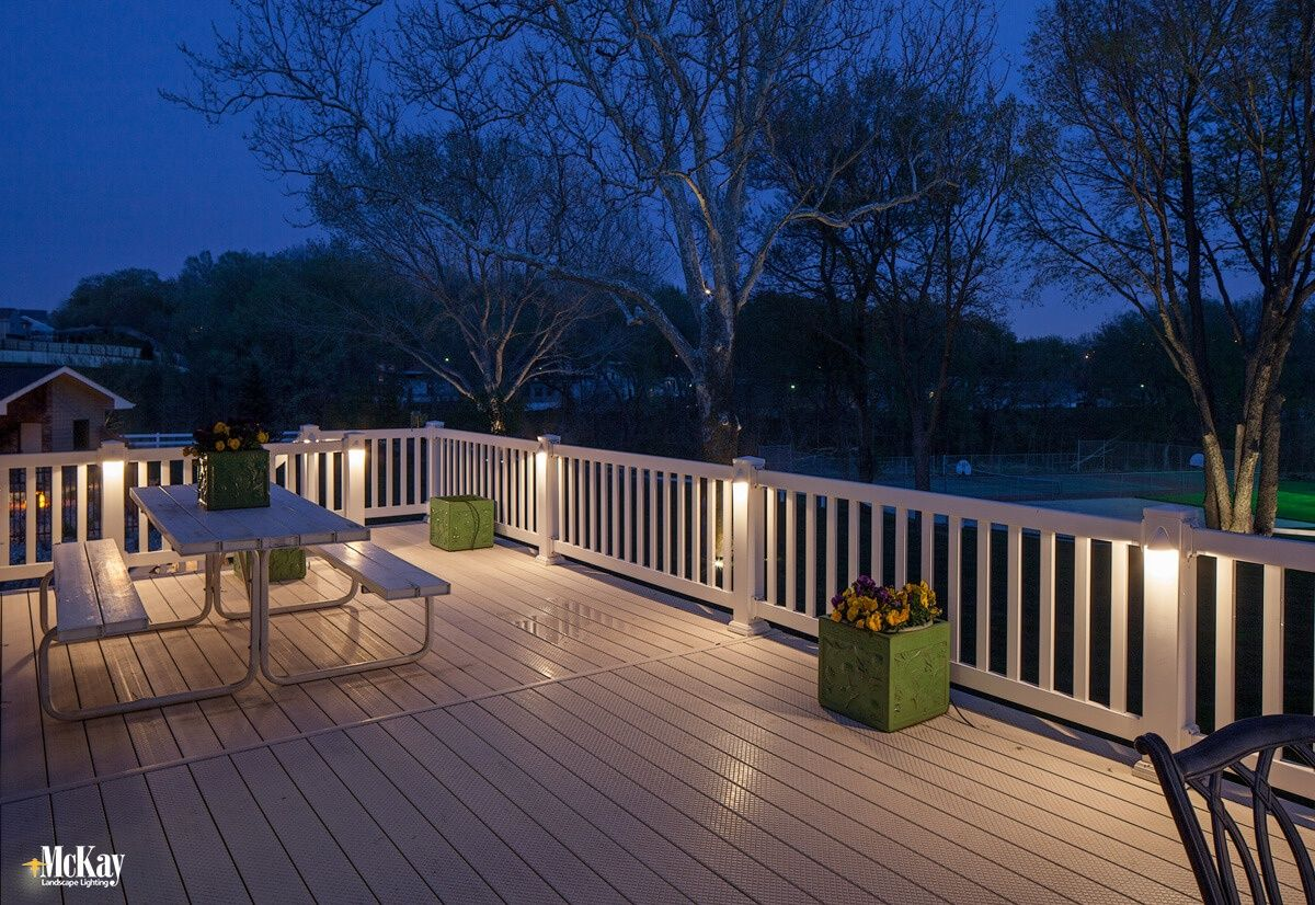 Outdoor Lighting Ideas For A Deck Or Patio Outdoor Deck Lighting