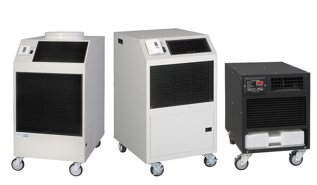 Convenient Self Contained Portable Cooling And Heating Rentals