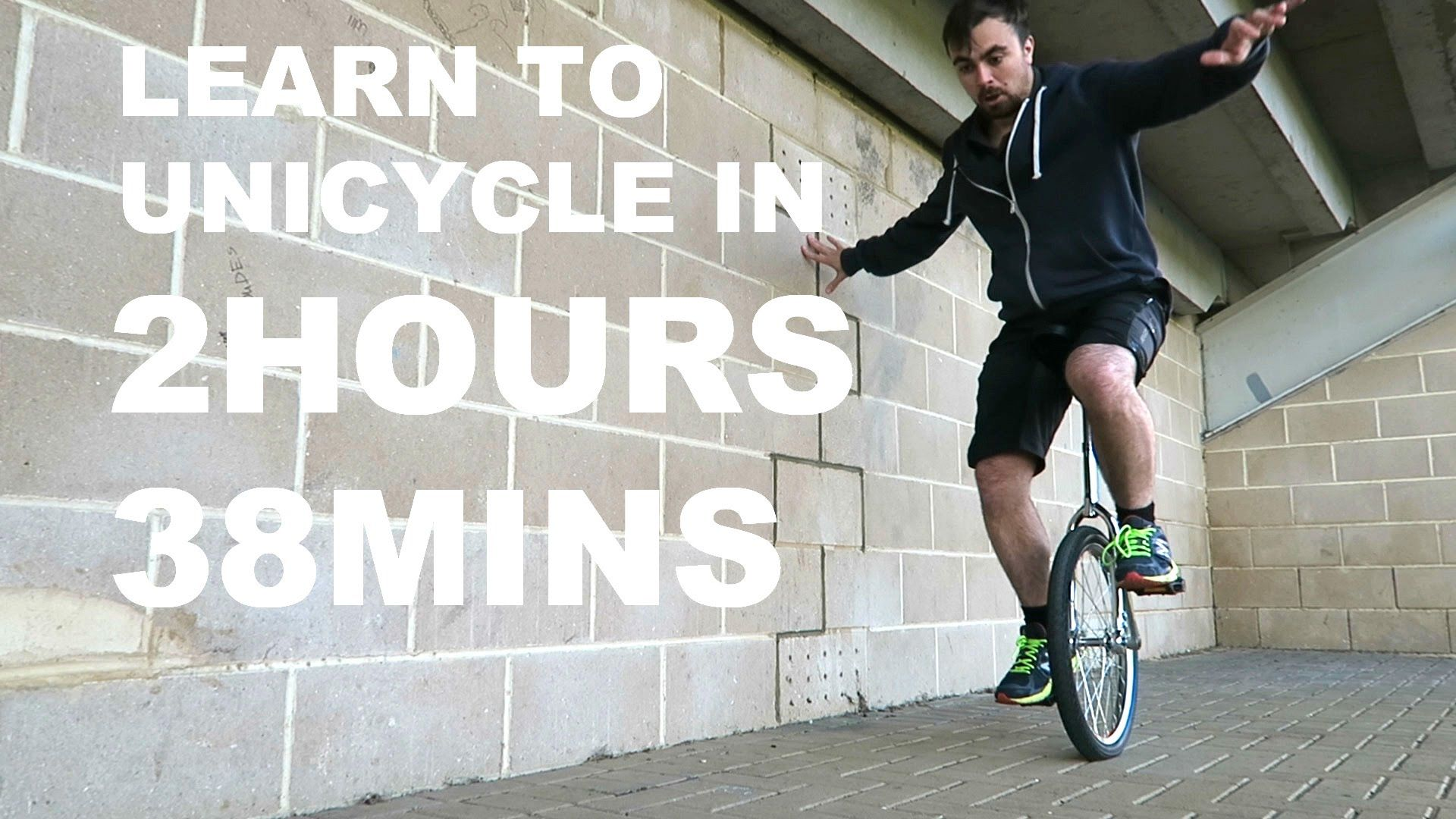 Learn To Unicycle In 2hours And 38mins Unicycle Learning Guys