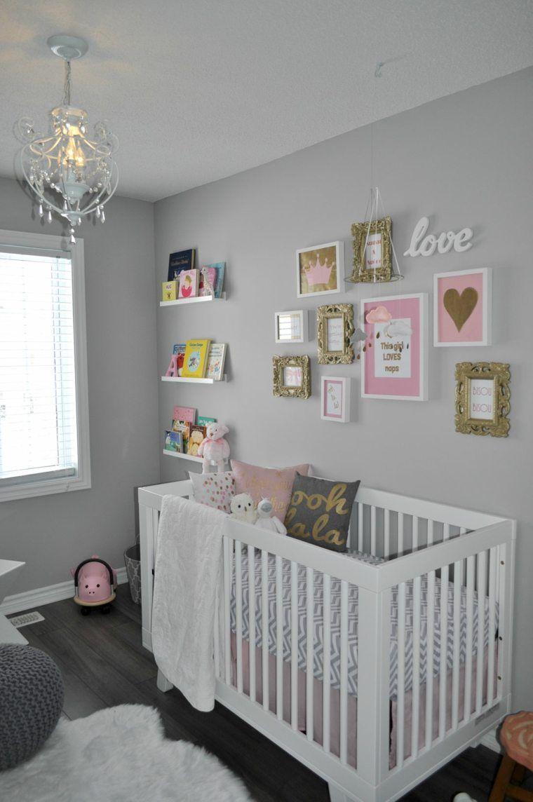 Idee Deco Chambre Bebe Fille Rose Et Gris   Rose Pour Diy Mixte ...