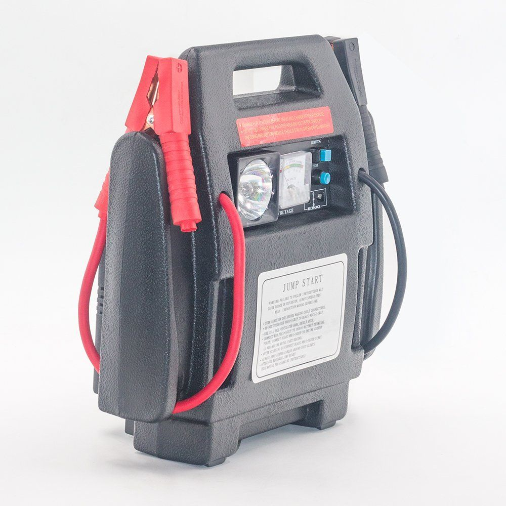 Bay Valley Parts 900Peak Amp 12 Volt Jump Starter Battery