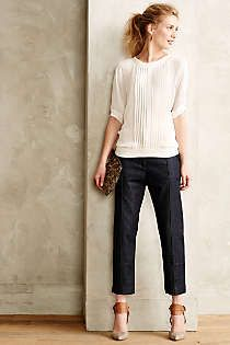 Anthropologie - Citizens of Humanity Astrid Cropped Jeans