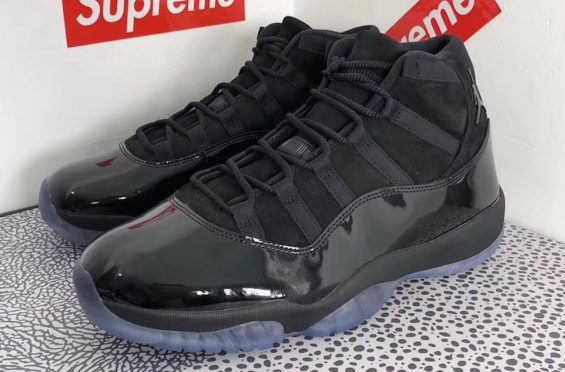 hot sale online bf6b6 67267 Air Jordan 11 Blackout (Prom Night) Dropping In May