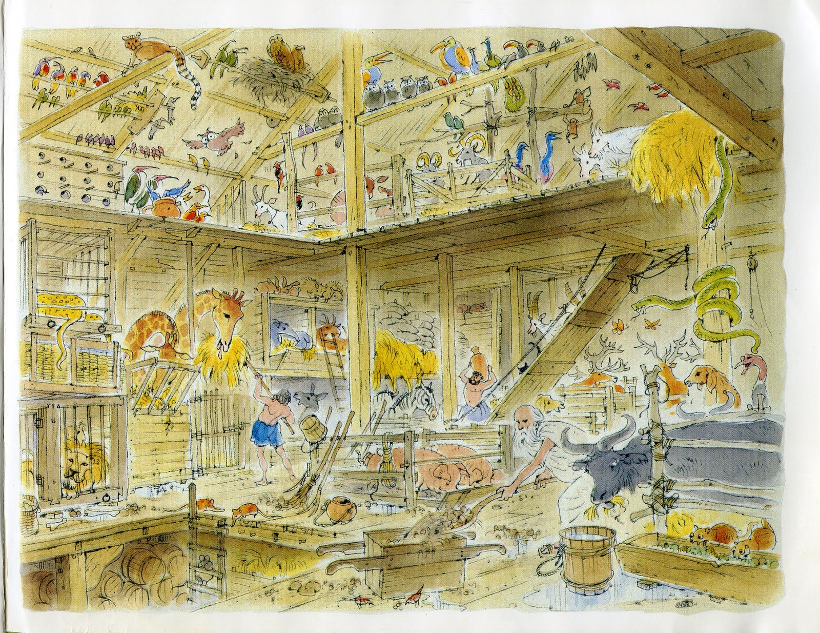 Noah S Ark What Author And Illustrator Peter Spier Gives