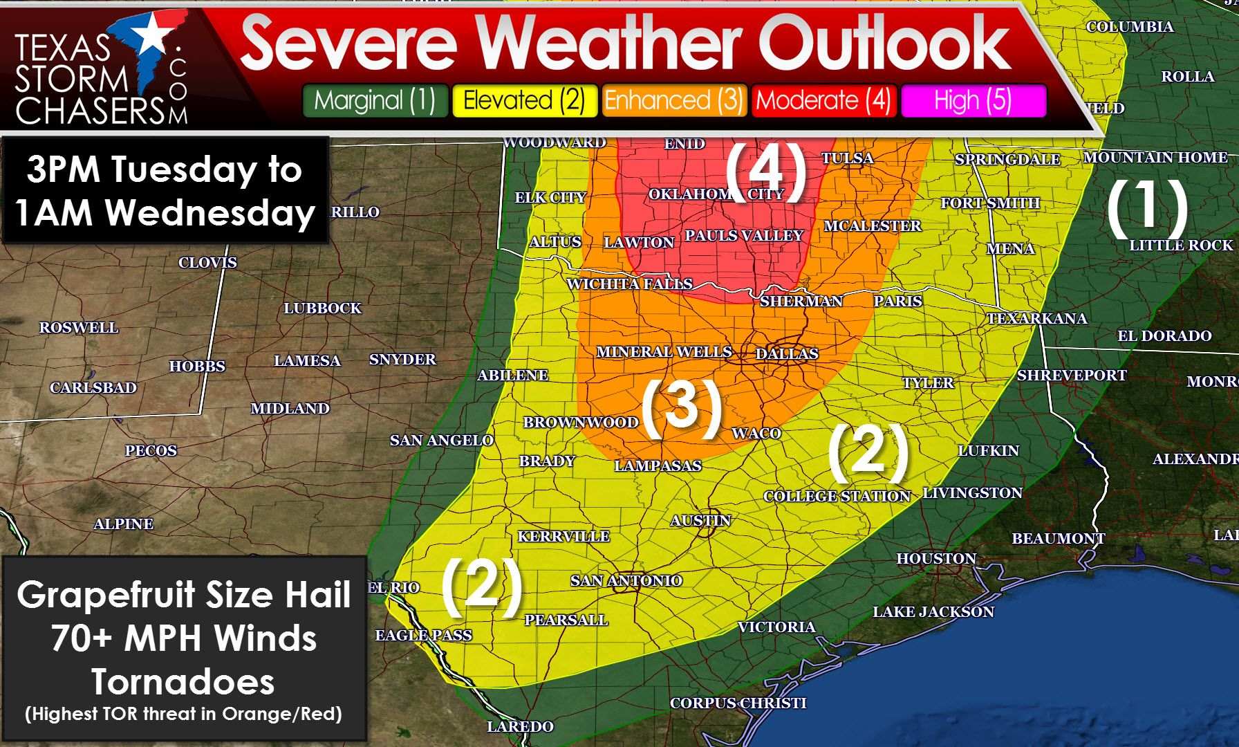 Severe Weather Event Tomorrow And Tomorrow Night Texas Storm Chasers Severe Weather Texas Storm Severe