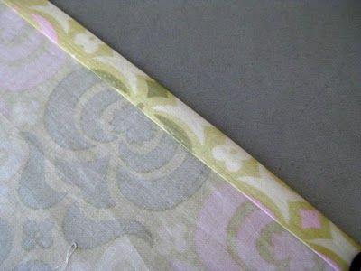 Ruffles and Roses: Sewing Basics - Hem (no raw edges!) Tutorial