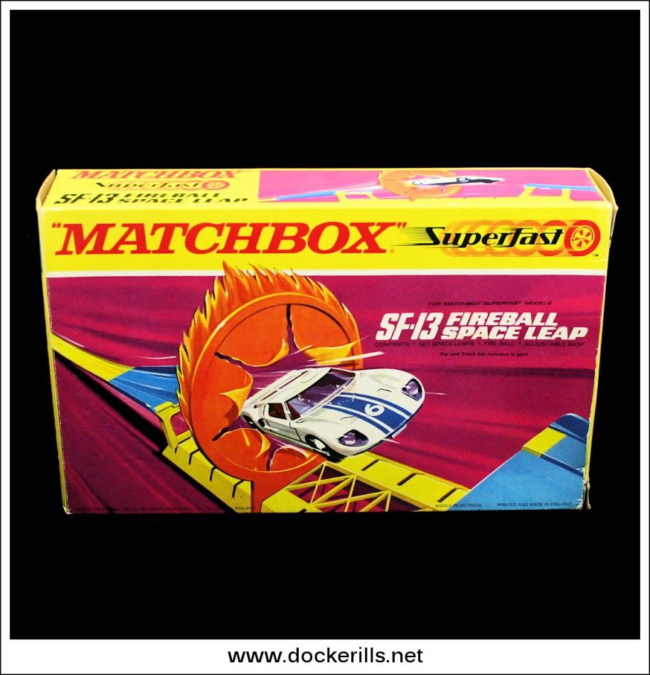 Matchbox Superfast SF-13 Fireball Space Leap. (Photo 1 Of