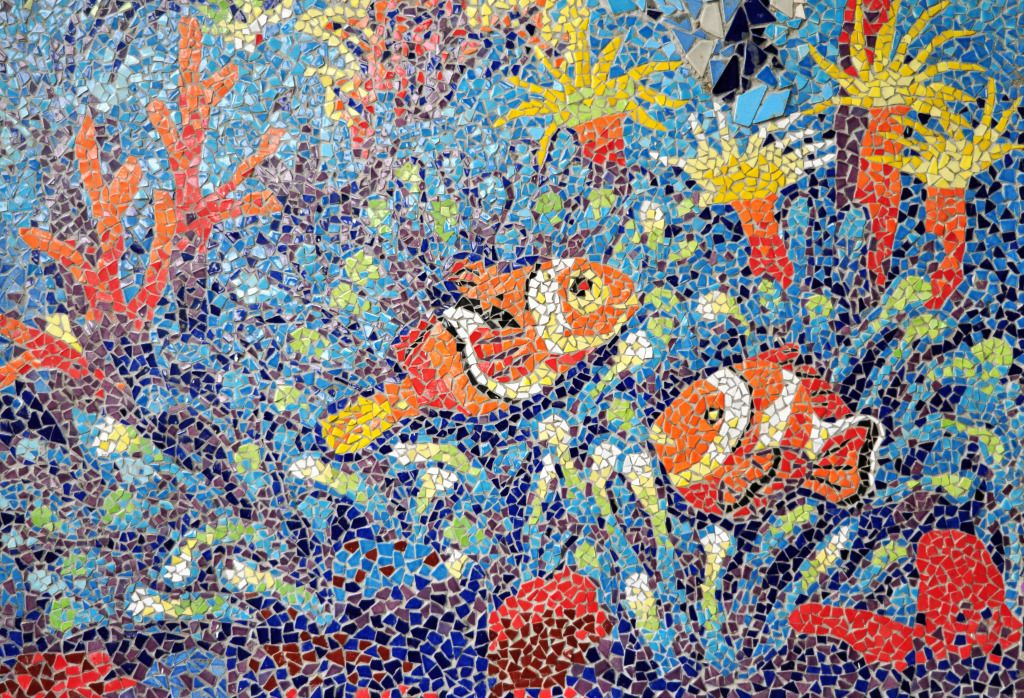 Clownfish Mosaic Puzzle In Under The Sea Jigsaw Puzzles On