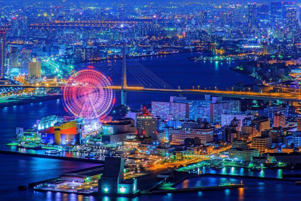 大阪で夜景を観るなら 絶対にここ 大阪湾に臨む大阪府咲洲庁舎の展望台は穴場の夜景スポットなのでおすすめですよ 湾岸エリア 大阪市内 神戸までが眺められます ビル内にはビュッフェレストランや結婚式場にもなるフレンチレストランがあり 雰囲気も抜群