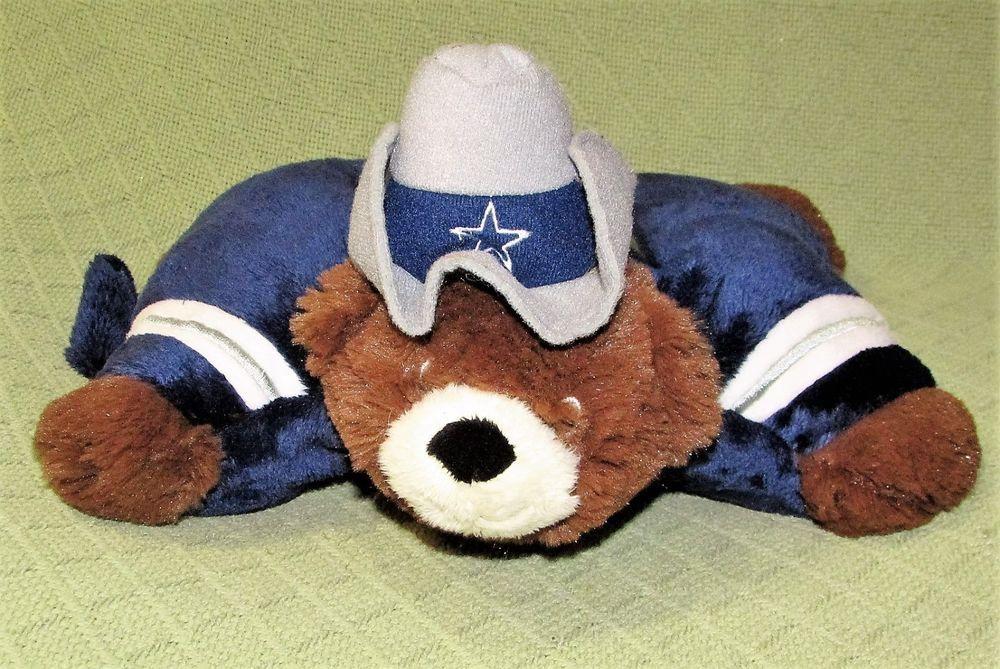 Dallas cowboys dream lites pillow pets teddy bear mascot