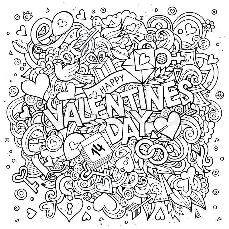 Stock vector of 'Cartoon vector hand drawn Doodle Happy ...