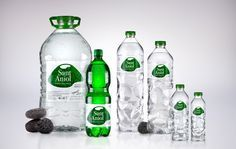 Sant Aniol Packaging By Little Buddha Water Bottle Design Water