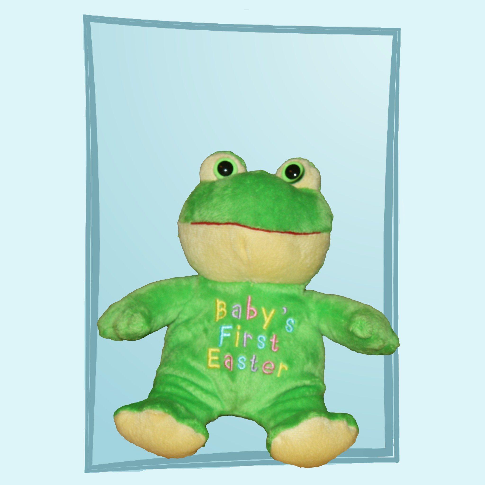 Predownload: Walmart Baby S First Easter Green Frog Walmart Baby Green Frog Plush Toy [ 2048 x 2048 Pixel ]